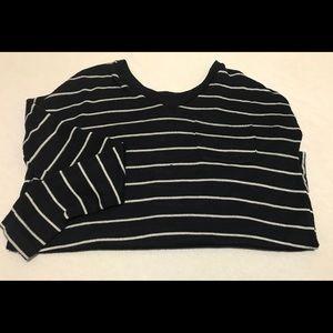 Merona stripe sweater, SZ XS